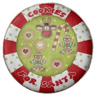 Cookies For Santa Edible Christmas Dipped Oreos Chocolate Covered Oreo
