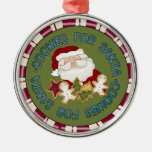 Cookies for Santa Keepsake Ornament