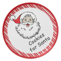 Cookies for Santa Party Plate
