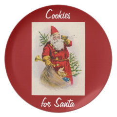 Cookies for Santa Party Plates