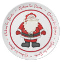 Cookies for Santa Plate plate