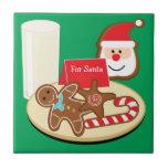 Cookies for Santa Tile