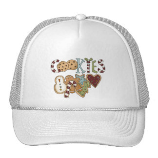 Cookies for Santa Tshirts and Gifts Hats