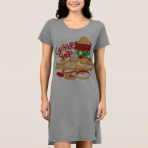 *Cookies for Santa Women's T-Shirt Dress