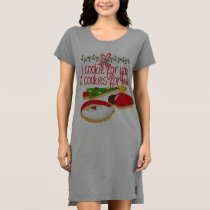 Cookies for Santa Women's T-Shirt Dress