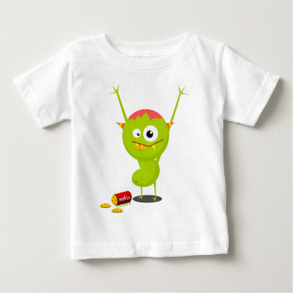 cookies green monster .png baby T-Shirt