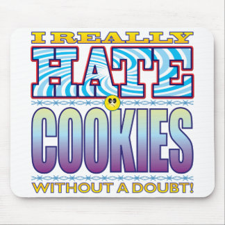 Cookies Hate Face Mouse Pad