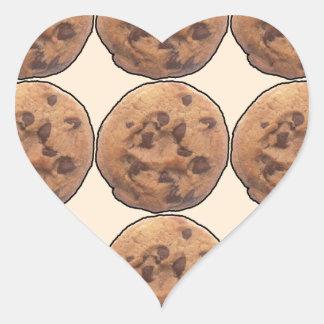 Cookies Heart Sticker