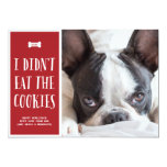 Cookies | Holiday Photo Card Custom Announcements