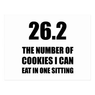Cookies I Can Eat Marathon Postcard