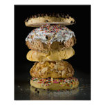 Cookies in a stack poster