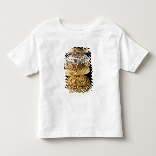 Cookies in a stack tee shirt