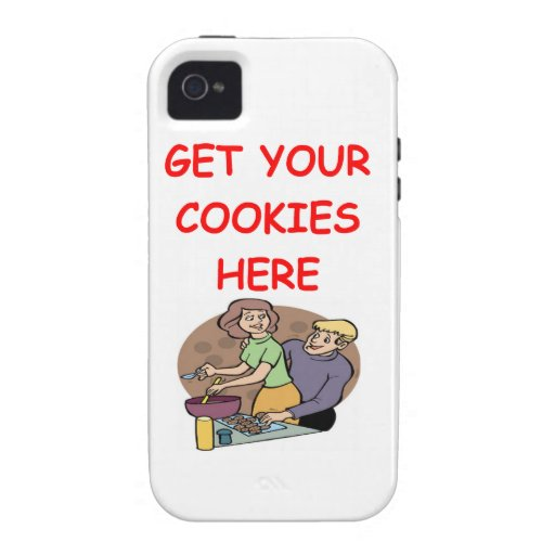 cookies iPhone 4 cover