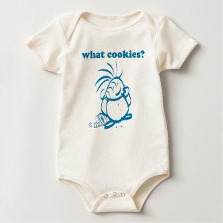 Cookies kid, What Cookies? Baby Bodysuit