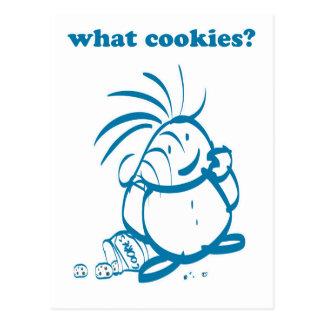 Cookies kid, What Cookies? Postcard