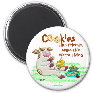 Cookies Make Life Worth Living Refrigerator Magnets