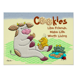 Cookies Make Life Worth Living Poster
