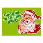 Cookies Make Me Gassy Greeting Card
