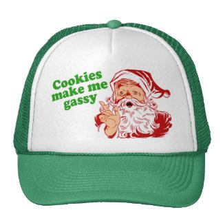 Cookies Make Me Gassy Hats