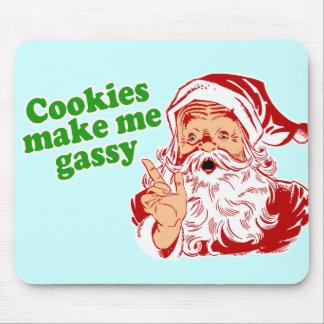 Cookies Make Me Gassy Mousepads