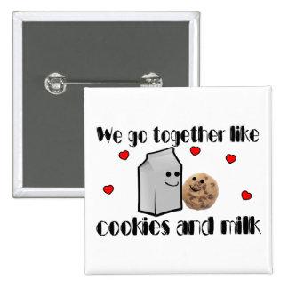 Cookies & Milk Pinback Button