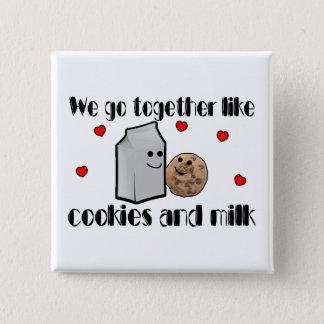 Cookies & Milk Love Button