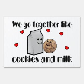Cookies & Milk Love Sign