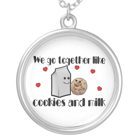 Cookies & Milk Love Silver Plated Necklace