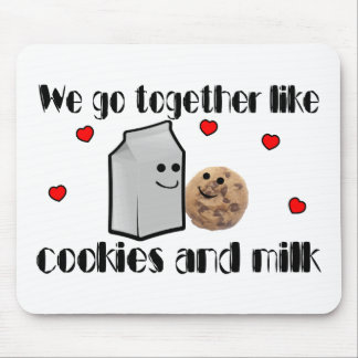 Cookies & Milk Mouse Pad