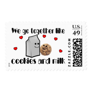 Cookies & Milk Postage
