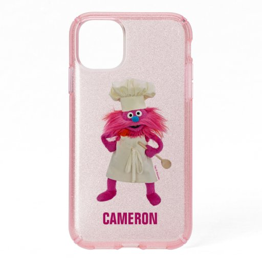 Cookie's Monster Food Truck | Gonger Posing Speck iPhone 11 Case