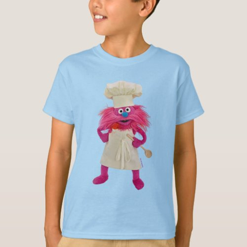 Cookies Monster Food Truck  Gonger Posing T_Shirt