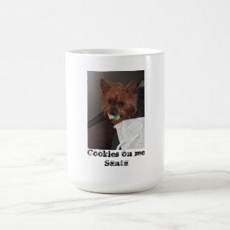 Cookies on me Santa Coffee Mug