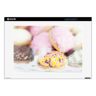 Cookies on table laptop decals
