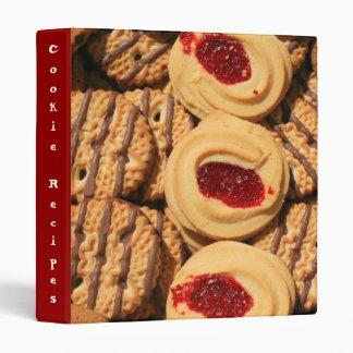 Cookies Recipe Binder