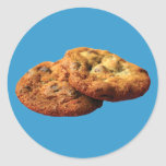 Cookies Round Stickers