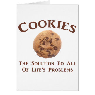 Cookies solve Problems Cards