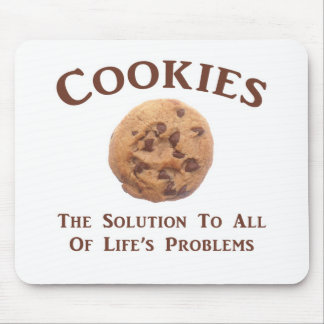 Cookies solve Problems Mouse Pad