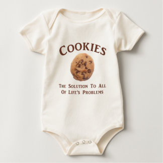 Cookies solve Problems Rompers