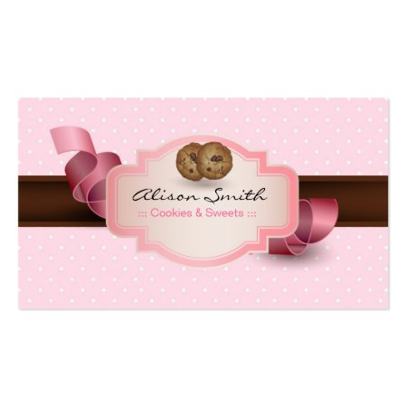 Sweets and Cookies Business Cards