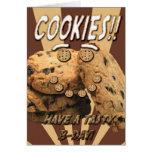 Cookies: Tasty Birthday Card