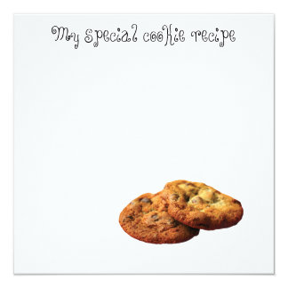 Cookies-transparent-gif, My special cookie recipe Card