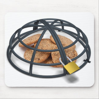 Cookies under a Cage Mouse Pad