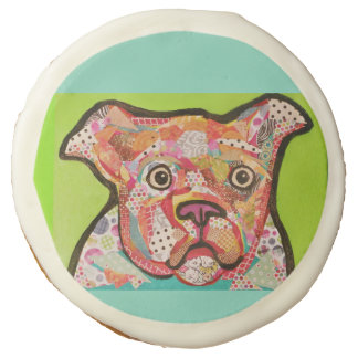 Cookies with Bright Dog Design