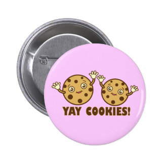 Cookies, Yay 2 Inch Round Button