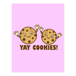 Cookies, Yay Postcard