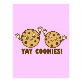 Cookies, Yay Postcard