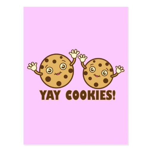 Cookies, Yay Postcards
