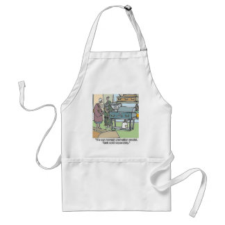 cookin cremation style adult apron