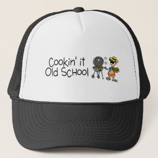 Cookin It Old School Trucker Hat